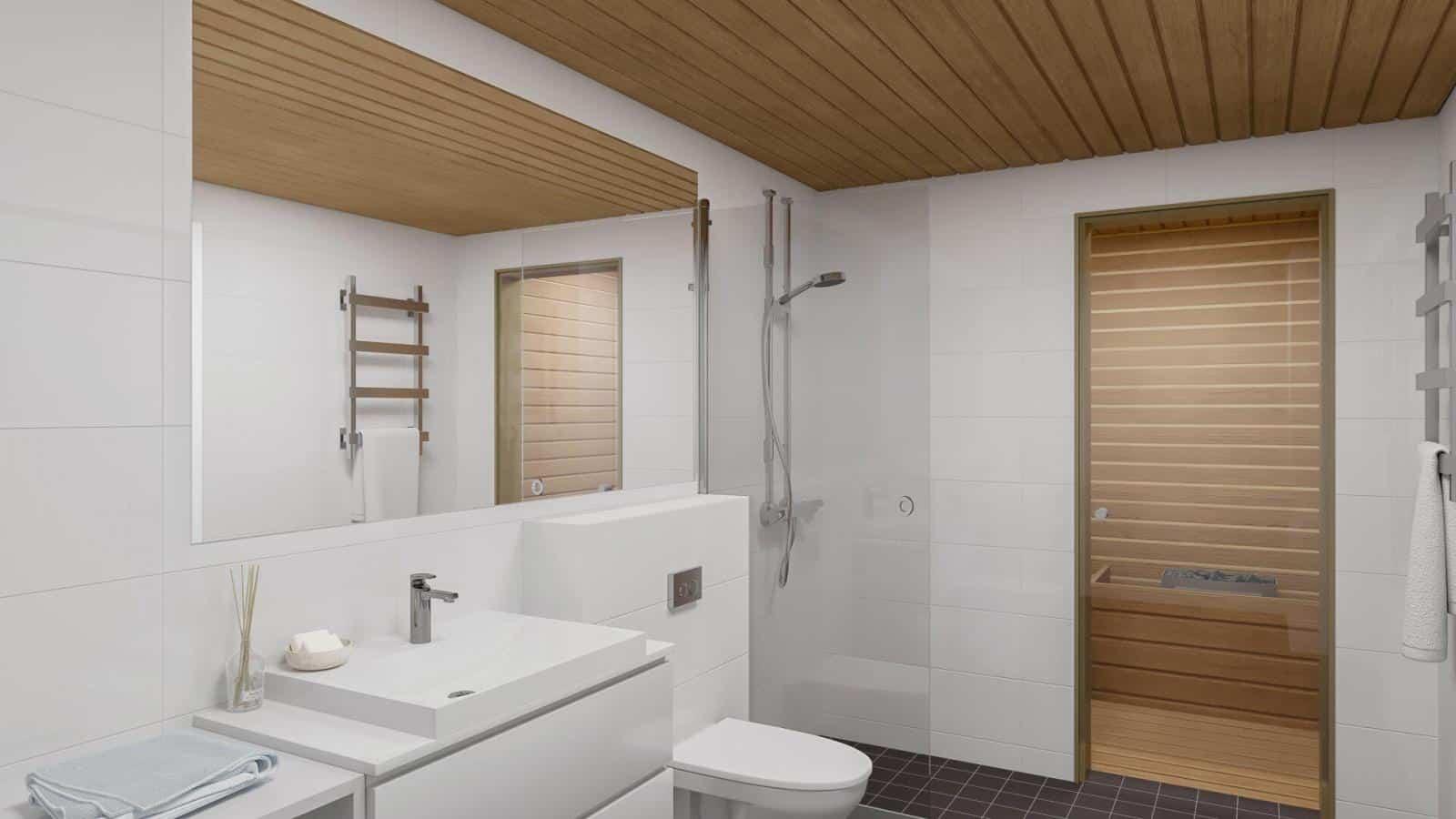 Niittykummun Plaza 49 m2:n 2h+k+s kulmahuoneistolla on vain yksi seinänaapuri (A1