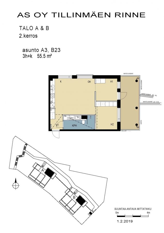 Korkoontie 4 A3 -