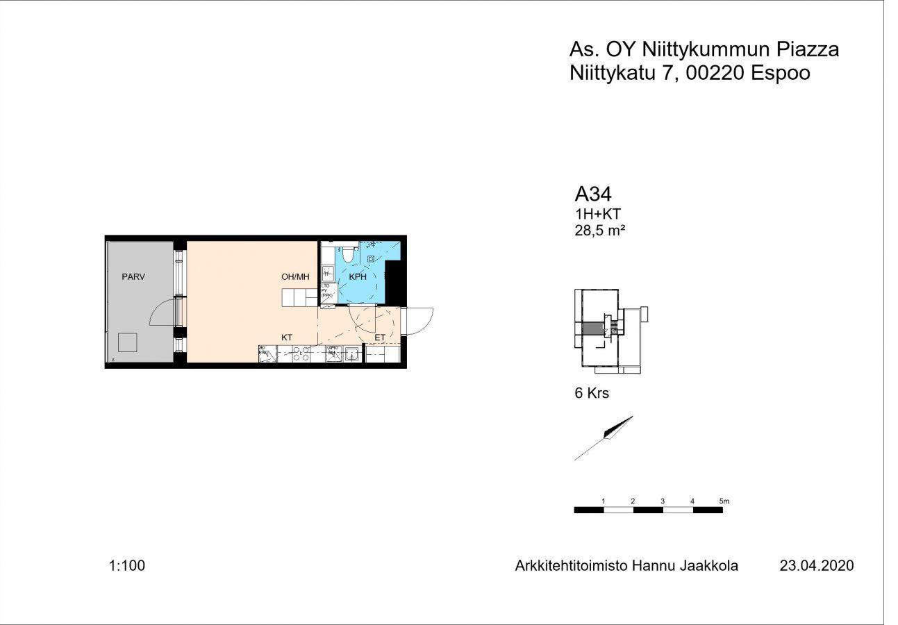 Niittykatu 7 A34 -