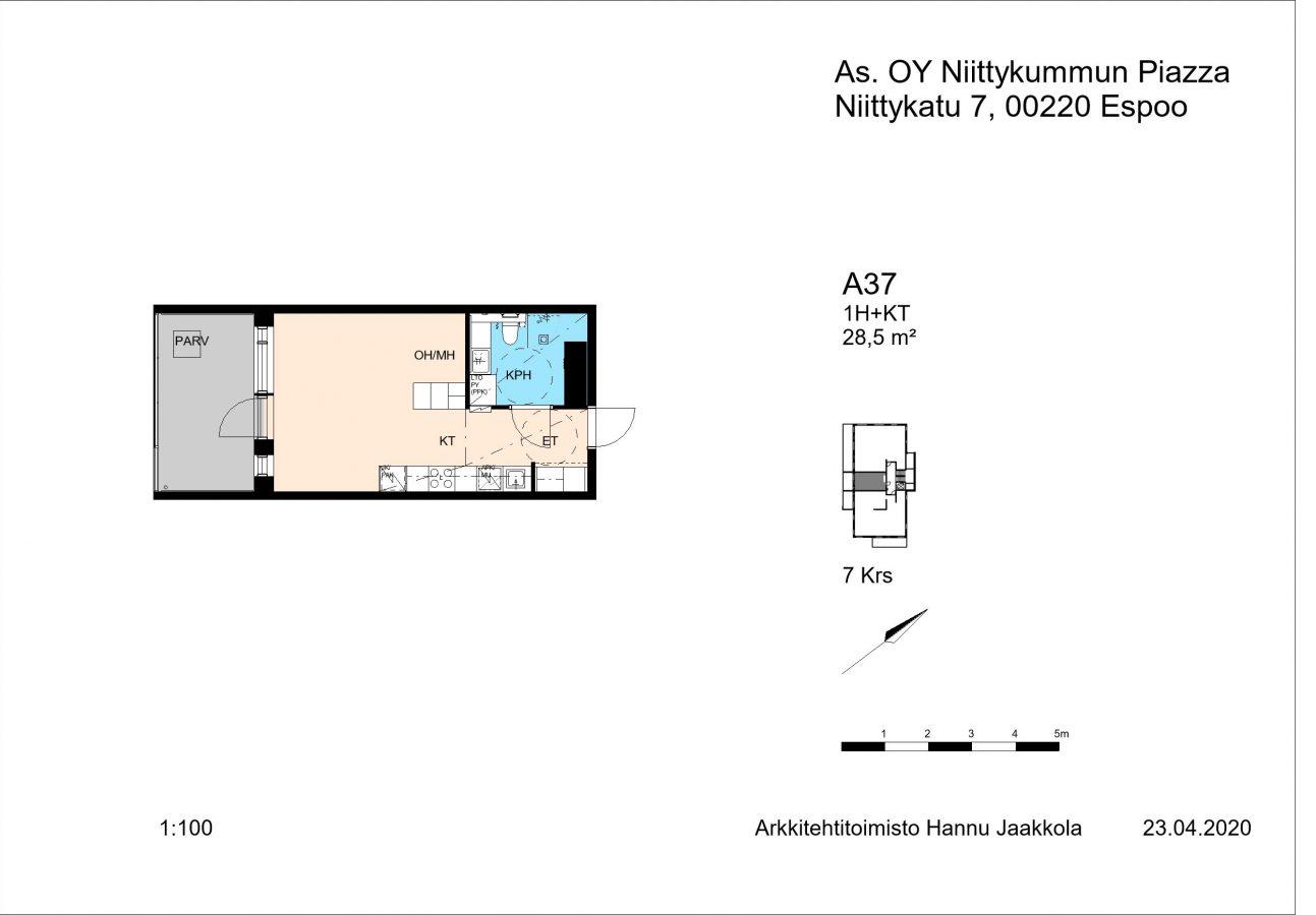 Niittykatu 7 A37 -