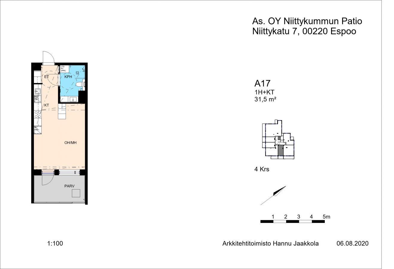 Niittykatu 5 A17 -